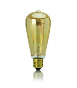 LAMPADA LED FILAMENTO VINTAGE 8W E27 3000K 810lm