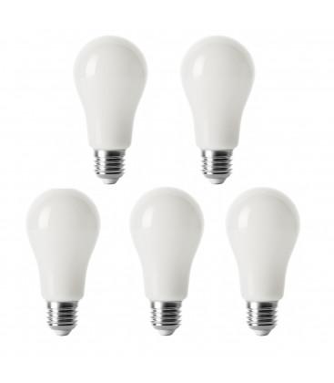 KIT 5 PZ LAMPADINA LED 7W 3000K E27 690lm