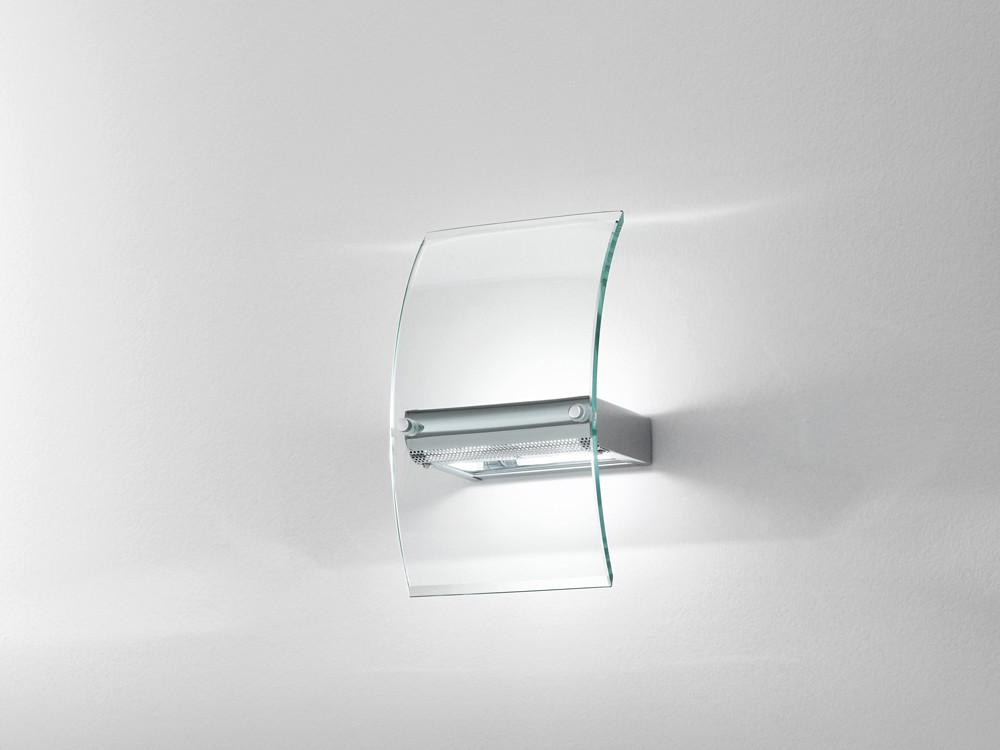 15183 applique cromo lucido vetro satinato trasparente